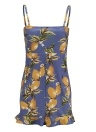 Women Floral Plaid Sweetheart Dress Bandage Knit Spaghetti Strap Mini Holiday Wear