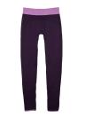 Модные брюки женщин йоги Спортивные брюки высокие растянуть фитнес тренажерный зал работает упражнение леггинсы