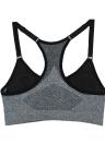Nueva moda mujeres deportes Bra Push Up inalámbrico acolchado chaleco de ropa interior elástica transpirable Yogo Gimnasio Fitness