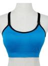 Nouvelles femmes sport soutien-gorge sans fil Push Up rembourrage Fitness Stretch respirant Yogo Gym Crop Top sous-vêtements Vest