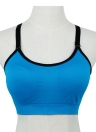 Novas mulheres Sports Bra Wireless Push-Up Fitness respirável estiramento Yogo ginásio Crop Top Underwear colete de preenchimento