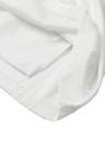 Nouveau mode femmes Mini jupe solide plissée exposée tirette fixation arrière jupe Casual blanc