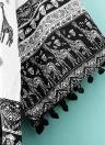 Frauen Strickjacke Langarm Kimono