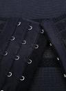 Сексуальные женщины талии тренер тела формирователь животик Cincher Underbust управления корсет дышащей ремень Shapewear черный/бежевый