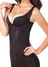 Женщины, которую цветочные трико, Похудение Cincher талии Underbust Shapewear сетки тела формирователь Корсеты черный/бежевый