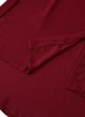 Fashion Sleeveless Asymmetrical Hem Turn-Down Collar Chiffon Blouse