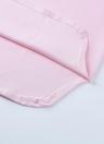 Capuz de mulheres verão Mini vestido com decote em v sem mangas de cor sólida esporte Casual vestido rosa