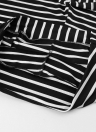 Summer Casual Striped High Elastic Waist Women's Shorts