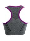 Новая мода женщин спортивный бюстгальтер пуш-ап беспроводных Mesh гонщик обратно набивочного полная чаша йога фитнес безрукавка
