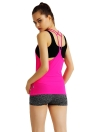 Fashion Sports Vest Strappy Backless Summer Sleeveless Tank Top