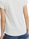 Casual Short Sleeves Stripe T-shirt