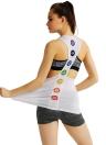 Новая мода Женщины Спорт жилет O-образным вырезом без рукавов Специальный печати Racer Назад Tank Top Йога Фитнес-центр Бег Вверх