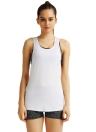 Special Print Racer Back Yoga Active Top