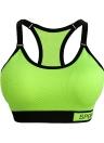 Mode femme Soutien-gorge sport sans bretelles ajustables détachables Pads Top Stretchy Gym Fitness Bra