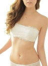 Padded Strapless Adjustable Back Thin Breathable Bra