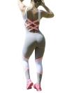 Yoga mette in fasce colore a contrasto senza maniche