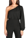 Jumpsuit Single Sleeve One Shoulder Slim Fit Overalls Casual Playsuits Rompers