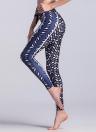 Sexy Women Slim Leggings Sport Yoga Print Skinny Pencil Calças Calças