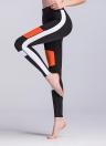 Frauen Fitness Yoga Hosen Sport Farbblock Leggings