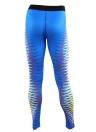 Women Sports Yoga Leggings Print Stretchy  Skinny Bodycon Pants Trousers