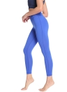 Femmes Leggings de sport solide Yoga pantalons de course d'entraînement collants