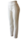 Faux Suede Leggings High Waist Skinny Pants Tights Slim Bodycon Pencil Trousers