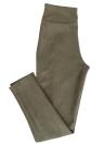 Leggings de gamuza sintética Pantalones pitillo de cintura alta Medias Pantalón de lápiz corporal estrecho