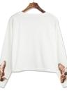 Fashion Women Cat Print  Loose T-shirt