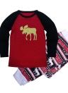 Pyjamas de famille de Noël de mère