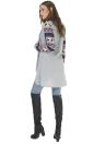 Cardigan aperto invernale con maniche lunghe a maniche lunghe