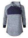 Модная женская флисовая длинная рукавная рубашка