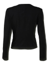 Autumn Women Slim Fit Long Sleeves Open Front  Blazer Jacket