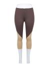 Polainas de deportes para mujer Pantalones pitillo de cintura alta con bloque de color Color Block