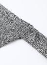 Зимние женские трикотажные полосатые свитера с длинным рукавом с длинным рукавом