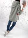 Moda Mujeres Con Capucha Contraste Color Block Loose Pullover Sudaderas con capucha