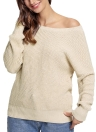 Women Knitted Loose Sweater Solid V Back Bandage Cross Over Hollow Out Long Sleeve Casual Jumper