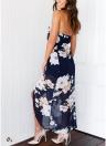 Платье для печати сексуальных женщин Halter