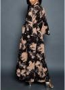 Платье для женщин с шифоновым шифоновым вырезом из вырезки V-образным вырезом