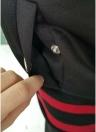 Мода Женщины Полосатый длинный рукав Спортивная одежда 2 шт Спорт Set