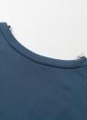 Женщины вскользь V Backless Платье ресницы кружева Splice с длинным рукавом O шеи мини платье