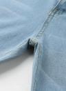 Las mujeres rasgaron los pantalones vaqueros Bodycon Denim Destroyed Frayed Hole Casual Pants