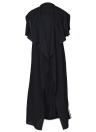 Cappotto per donna Cappotto senza maniche Colletto rovesciato senza maniche Colletto aperto lungo anteriore