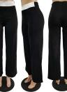 Frauen Hosen Glitter Pailletten Hohe Taille Gerade Breite Beine Casual Hosen Tanz Bühne Tragen