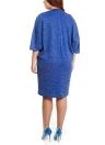 Женщины Плюс Размер Платье Карманный O Шея Повседневный Свободный Платье Большого размера Элегантное Платье