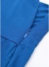 Pantalones de pierna ancha de cintura alta para mujeres ocasionales Pantalones de pierna con cremallera lateral de cintura alta