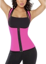 Body Shaper Slimming Waist Trainer Contrast Women Cincher Vest