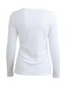 T-shirt Deep V Neck Buttons Long Sleeve Solid Color Slim Casual Tops Tees