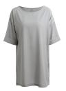 Casual Loose Dress Solid Color Short Sleeve Ladies Mini Dress