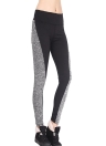 Frauen-Sport-Leggings Stretch Yoga Pants Elastic Workout Gym Fitness Jogging Strumpfhosen Hose Schwarz