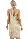 New Sexy Women Slip V-Neck Gargantilha Spaghetti Strap Silk Satin Party Dress